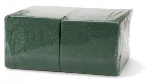 Салфетки 1-слойные зеленые