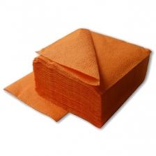 Салфетки 1-слойные оранжевые