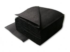 Салфетки 1-слойные черные
