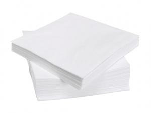 Салфетки двухслойные белые