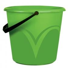 Ведро пластиковое без крышки 6л пищевое