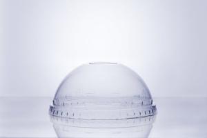 Крышка купольная ПЭТ прозрачная