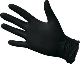 Перчатки нитриловые черные 4,0гр