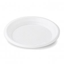Тарелка одноразовая пластиковая