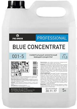 Моющее средство для пола  Blue concentrate (блю концентрат)
