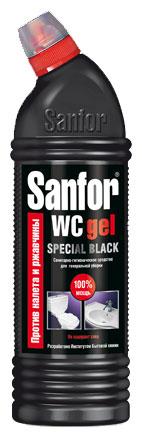 Средство для сантехники Санфор WC gel SPECIAL BLACK