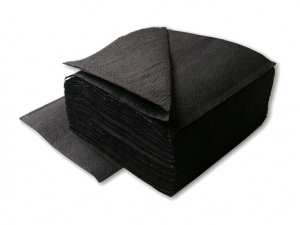 Салфетки бумажные черные