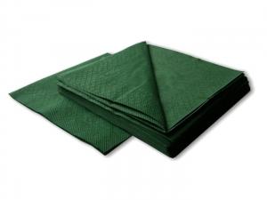 Салфетки  бумажные зеленые