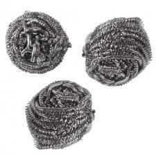 Губки для мытья посуды спиральные Лайма 3шт