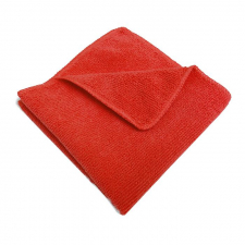 Салфетка микрофибра 30х30, 200гр/м2 (красная) б/упак