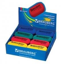 Резинка стирательная BRAUBERG овальная