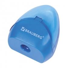 Точилка BRAUBERG BELL пластиковая  с контейнером
