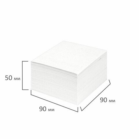 Блок для записей STAFF проклеенный белый, белизна 90-92%