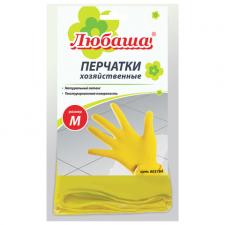 Перчатки хозяйственные Любаша с хлопковым напылением