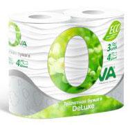 Туалетная бумага Ova
