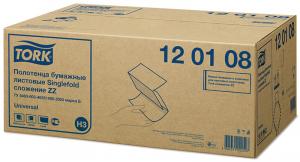 Листовые полотенца ZZ-сложения Торк 120108