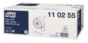 Ультрамягкая 3-слойная туалетная бумага Торк 110255