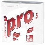 Туалетная бумага PROtissue S Premium трехслойная 4 рулона С180