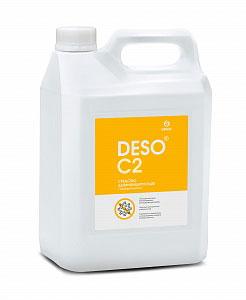 Дезинфицирующее средство с моющим эффектом на основе ЧАС DESO C2