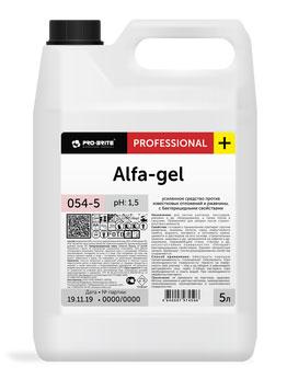 Усиленное средство против известковых отложений и ржавчины Alfa-gel (альфа-гель)