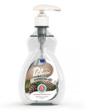 Жидкое мыло для рук с антибактериальным эффектом Palmia (пальмия) с эфирными маслами