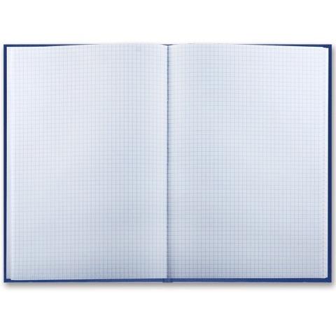 Книга учета 96 л., клетка, твердая, бумвинил, блок офсет, наклейка, А4 (200х290 мм), BRAUBERG