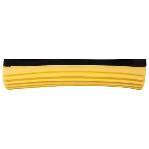 Насадка МОП для швабры самоотжимной роликовой, PVA 27 см, желтая, ЛАЙМА
