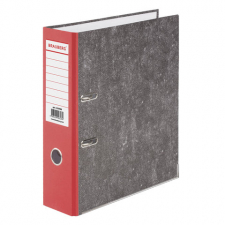 Папка-регистратор BRAUBERG, фактура стандарт, с мраморным покрытием, 75 мм