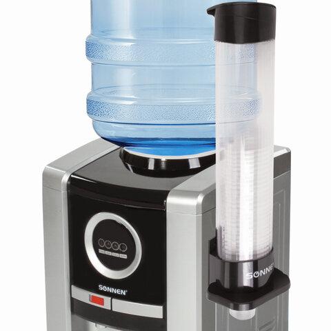 Стаканодержатель SONNEN BL-70M, 70 стаканов, на магните, черный