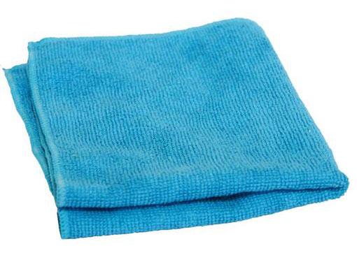 Тряпка для пола микрофибра 50х60, 220гр/м2 (голубая) б/упак