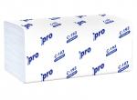 Полотенца бумажные листовые PROtissue V сложения Comfort однослойные, 33 гр, С193