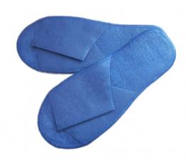 Тапочки из спанбонда Эконом синие