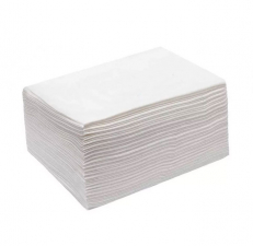 Салфетки (полотенца) 35х70см 40гр Спанлейс европак белые 50шт