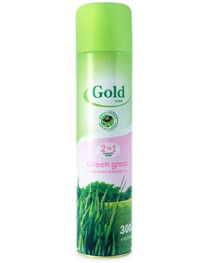 Освежитель воздуха Gold wind (голд винд) зеленая трава
