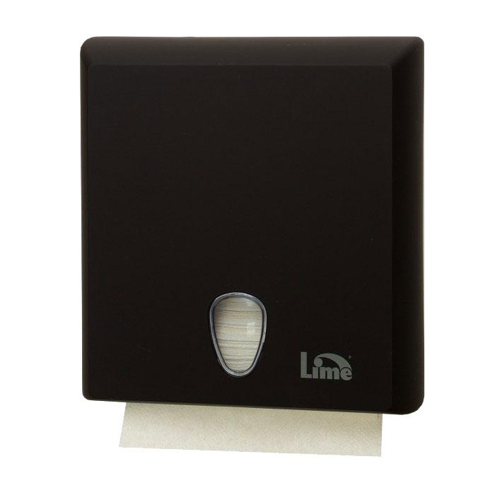 Диспенсер Lime для полотенец Z-сложения черный  А70610ENS