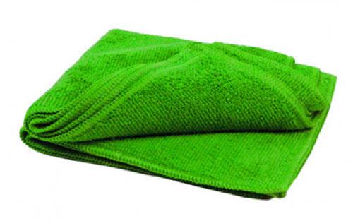 Тряпка для пола микрофибра 50х60, 220гр/м2 (зеленая) б/упак
