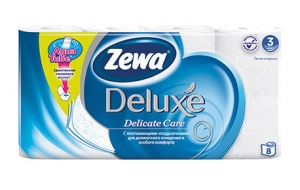 Туалетная бумага Зева Делюкс