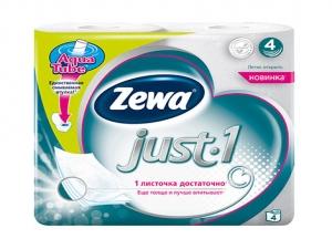 Туалетная бумага Zewa Just1