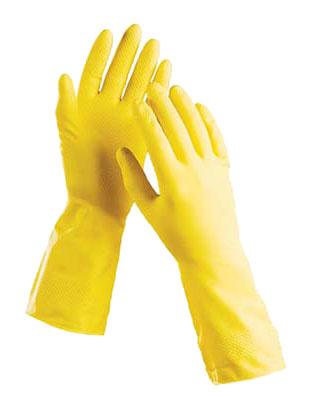 Перчатки латексные с хлопковым напылением