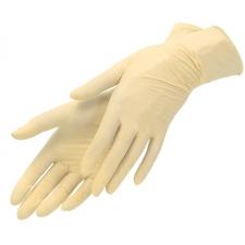 Перчатки латексные одноразовые