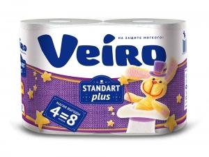 Туаетная бумага Linia Veiro Standart plus