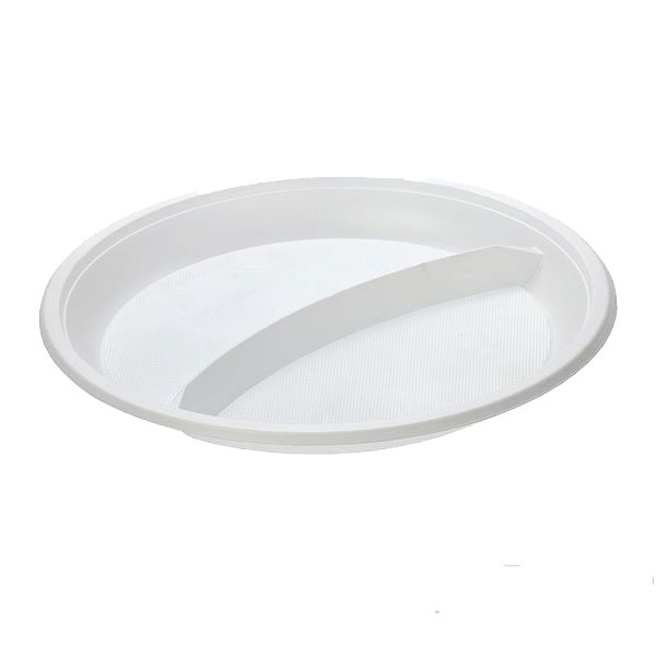 Тарелка 2-секционная