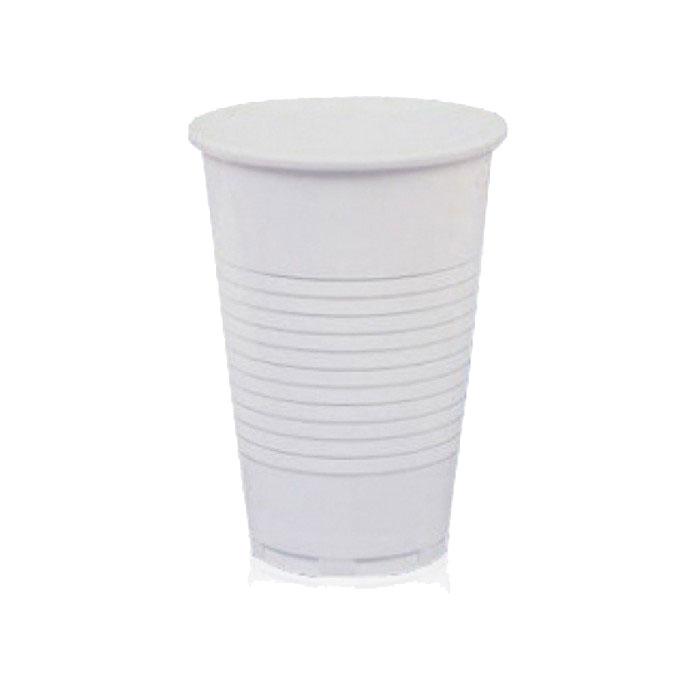 Стакан пластиковый белый