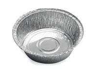 Контейнер алюминиевый круглый
