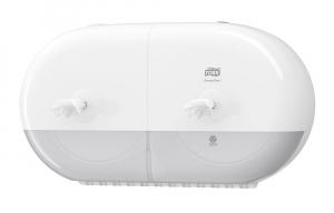 Tork SmartOne® двойной диспенсер для туалетной бумаги в мини-рулонах