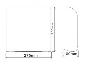 Сушилка для рук высокоскоростная BXG-JET-3200