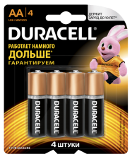 Батарейки Дюраселл АА