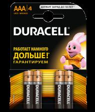Батарейки дюраселл мизинчиковые