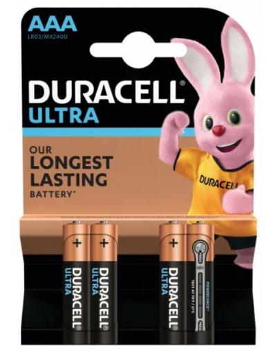 Батарейки Duracell UltraPower AAA