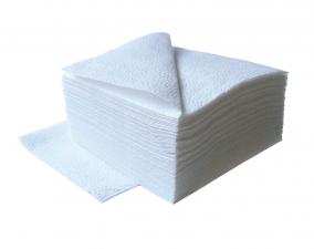 Салфетки белые 24х24